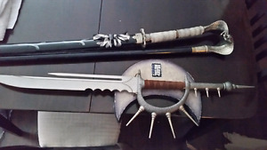 Heavy Metal Collectable swords cain