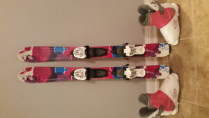 K2 Luv Bug girl's ski's 88 cm Catch Free Twin-tip Rocker $100