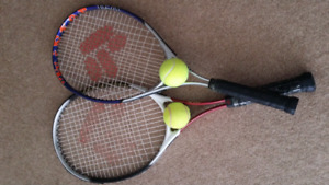 Tennis Rackets with new balls for Sale