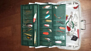 Fishing Tackle with Box