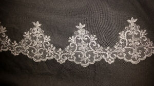 Brand new cathedral length veil by designer Jade Daniels