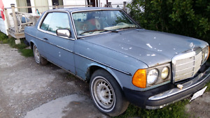 78 Mercedes Benz coupe