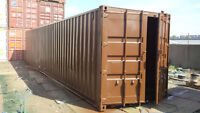 Used 40ft containers available