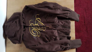 Baby Phat Reversible Jacket & Areopostale Sweater Bundle