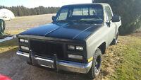 1986 Chevrolet C10 Pickup Truck stepside