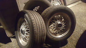 BBS RX-7 Wheels and Tires 5x114.3