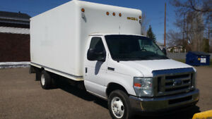 2010 Ford E-450 Series Cube Van in Medicine Hat