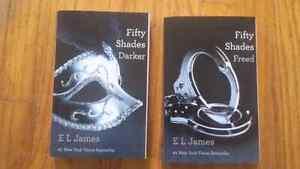 Fifty shades of grey book II  & III