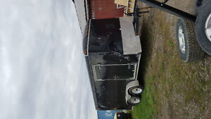 7x14 enclosed trailer
