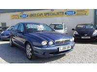 """ 75,000 "" Jaguar X-TYPE 2.2D SE BLUE * TURBO DIESEL * GREAT SPEC * CLEAN CAR *"