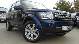 2010 LAND ROVER DISCOVERY 4 TDV6 XS FANTASTIC BALI BLUE WITH CREAM LEATHER J