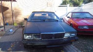 PRICE REDUCED!!! 1986 Maserati