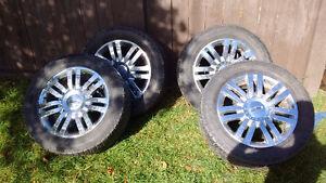 4 Lincoln 55r20's radial xtx sports premium all terrain tires fo