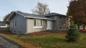 Spacious 4 Bdrm 2 Bath home in Dieppe for rent ,Heat & Power inc