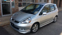 2007 HONDA FIT SPORT WITH WARRANTY