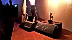 Lumiere et support tablette et cell style vintage industriel Saguenay Saguenay-Lac-Saint-Jean image 3