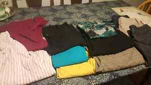 Lot of women's S/M size 8 clothes. 11 items for $12