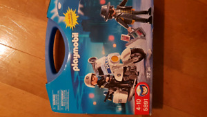 Police and robber playmobil set