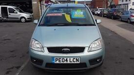 2004 FORD FOCUS C MAX 1.8 Zetec From GBP1,995 + Retail Package