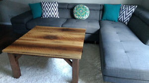 Solid wood OVERSIZED coffee table..REDUCED Cambridge Kitchener Area image 2