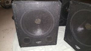 "18"" 1000W Pyle Pro Sub-Woofers for sale."