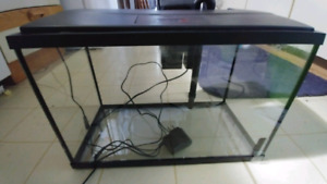 5.5 Gallon Tank with Filter and Hood (pick up only)