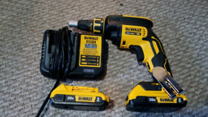 Brand new Dewalt drywall screwgun