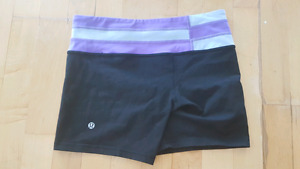 Excellent condition lululemon groove shorts