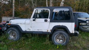 1993 jeep yj for parts