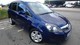 Vauxhall Zafira 1.7TD ( 108bhp ) 2011MY Exclusiv 70040 miles 7 seats shrewsbury