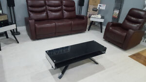 Modern Glass coffee table and end table side table $ 95.00 all