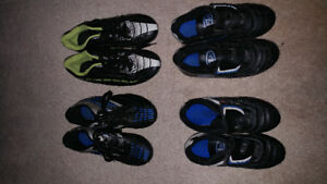 Soccer shoes for kids are for sale