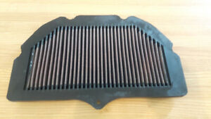 gsxr windscreen and K and N air filter