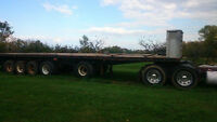 6 AXLE TRANSPORT TRUCK TRAILER FOR SALE