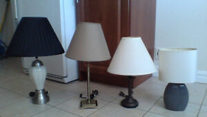 LAMPS  LAMPS  and  MORE  LAMPS   $15 - $30