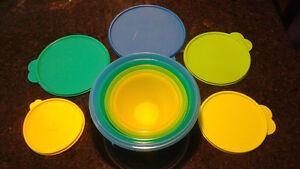 Tupperware Wonderlier 5-Piece Bowl Set