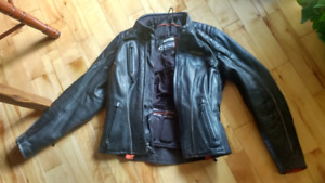 FXRG Harley top of line  womens leather jacket  size small