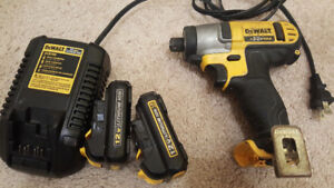 DeWalt Impact 12V Max.2 Battery and Charger.
