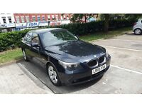 2006 BMW 535DIESEL AUTOMATIC 1YEAR MOT 65MILES 1OWNER PX WELCOME