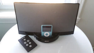 Bose system and ipod