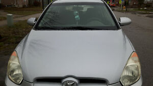 2007 Hyundai Accent Coupe (2 door)