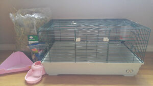 """Marchioro Tommy 82 Lg Guinea Pig Cage 32 1/4"""" L x 20"""" W x 17"""" H"""