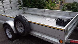 5*12 Gavanized motorcycle / utility trailer