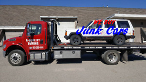 Towing & Scrap  cars Removal