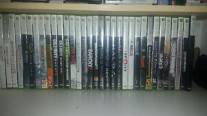 Great Condition Xbox 360 Slim + 300GB Hard Drive and Games