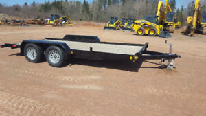 New 16 ft 7000lbs trailer
