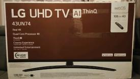 43'' LG ULTRA HD 4K TV (Brand New)