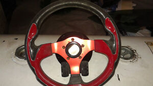 GRANT GT steering wheel with adaptor & radio control buttons