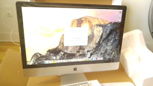 iMac with 27-inch LED backlit display