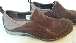 Merrell Suede Slip On Loafer Shoes - Size 7